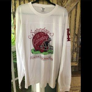 FSU long sleeved shirt XL